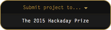Submit to 2015 Hackaday Prize